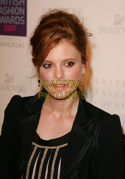 EMILIA FOX.At the British Fashion Awards 2007, Lawrence Hall, 80 Vincent Square, London, England, November 27th 2007..portrait headshot.CAP/ROS.©Steve Ross/Capital Pictures