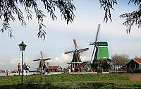 Zaanse Schans - Molens  in Openluchtmuseum de Zaanse Schans