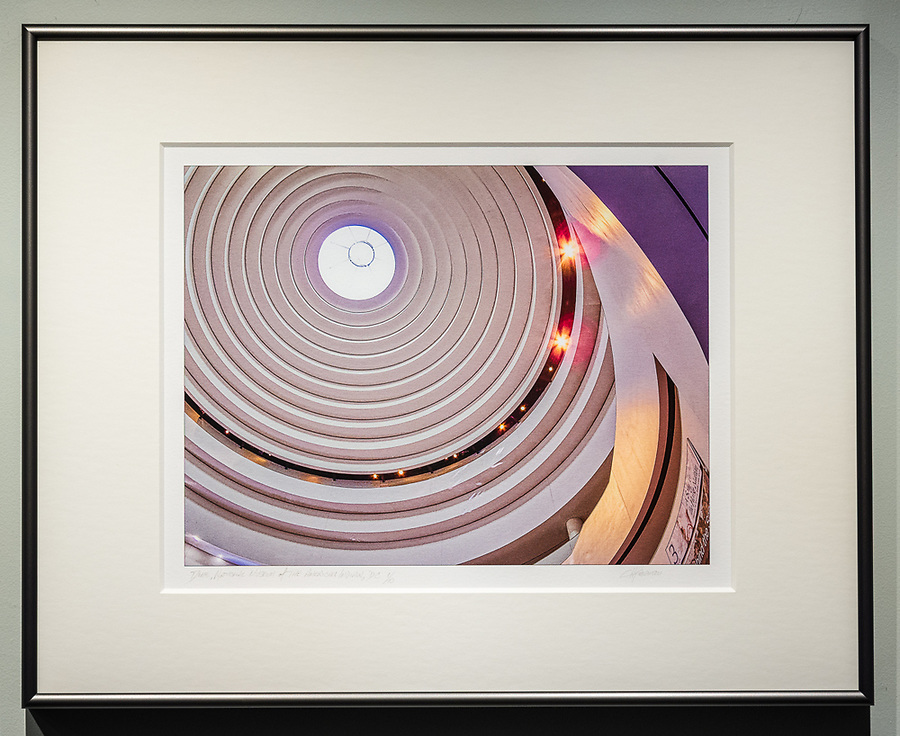 """Framed Size 16""""h x 20""""w, $335.<br /> Graphite Nielsen 15 metal frame with 8-ply mat"""