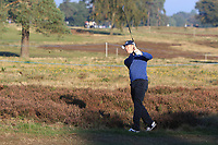 Brandon Stone (RSA) on the 4th fairway during the Pro-Am for the Sky Sports British Masters at Walton Heath Golf Club in Tadworth, Surrey, England on Tuesday 10th Oct 2018.<br />