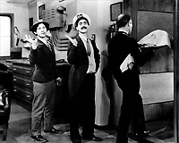 Monkey Business (1931) <br /> Groucho Marx &amp; Chico Marx<br /> *Filmstill - Editorial Use Only*<br /> CAP/KFS<br /> Image supplied by Capital Pictures