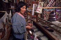 Amérique/Amérique du Sud/Pérou/Ollantay Tambo : Tissage traditionnel