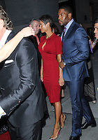 NEW YORK CITY, NY, USA - MAY 01: Nicole Murphy, Michael Strahan at the Operation Smile Event held at Cipriani Wall Street on May 1, 2014 in New York City, New York, United States. (Photo by Jeffery Duran/Celebrity Monitor)