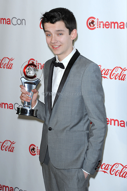 "Asa Butterfield at the ""2013 Cinemacon Big Screen Achievement Awards"" held at  Caesar's Palace in Las Vegas, Nevada April 18, 2013"