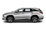 Car Driver side profile view of a 2018 Lexus RX 350L-4x2 5 Door SUV Side View