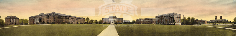 Color wash of the Drill Field <br />