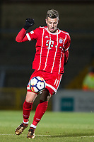 Mario Crnicki of Bayern Munich II during the Premier League International Cup match between Reading U23 and Bayern Munich II at the Adams Park, Wycombe, England on 8 December 2017. Photo by Andy Rowland.