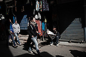 Tourists and Local Nepalese are seen in the streets of Thamel in capital Kathmandu, Nepal