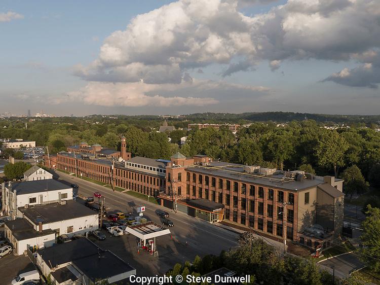 Aetna mills, Watertown, MA aerial | Steve Dunwell