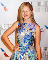 NEW YORK CITY, NY, USA - JUNE 12: Jackie Evancho at the 45th Annual Songwriters Hall Of Fame Induction And Awards Gala held at The New York Marriott Marquis on June 12, 2014 in New York City, New York, United States. (Photo by Celebrity Monitor)