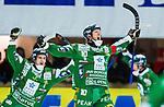 V&auml;ster&aring;s 2014-03-08 Bandy SM-semifinal 4 V&auml;ster&aring;s SK - Hammarby IF :  <br /> Hammarbys Stefan Erixon jublar efter sitt 2-1 m&aring;l p&aring; straff<br /> (Foto: Kenta J&ouml;nsson) Nyckelord:  VSK Bajen HIF jubel gl&auml;dje lycka glad happy