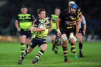 Luke McGrath of Leinster Rugby in possession. European Rugby Champions Cup match, between Northampton Saints and Leinster Rugby on December 9, 2016 at Franklin's Gardens in Northampton, England. Photo by: Patrick Khachfe / JMP