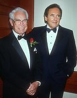 William Hanna, Joseph Barbera, 1992, Photo By Michael Ferguson/PHOTOlink