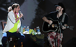 Sugarland performs at Harveys Lake Tahoe in Stateline, Nev., on Saturday Aug. 18, 2012..Photo by Cathleen Allison