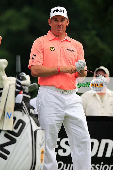 Lee WESTWOOD (ENG) waits to tee off the 4th tee during Saturday's Round 3 of the WGC Bridgestone Invitational, held at the Firestone Country Club, Akron, Ohio.: Picture Eoin Clarke, www.golffile.ie: 2nd August 2014