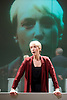 Oresteia<br /> by Aeschylus <br /> a new version created by Robert Icke<br /> at Almeida Theatre, London, Great Britain <br /> press photocall<br /> 4th June 2015 <br /> <br /> Lia Williams<br /> <br /> <br /> <br /> <br /> <br /> Photograph by Elliott Franks <br /> Image licensed to Elliott Franks Photography Services