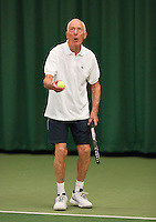 August 22, 2014, Netherlands, Amstelveen, De Kegel, National Veterans Championships, Jan Haage<br /> Photo: Tennisimages/Henk Koster