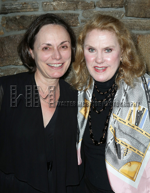 Alma Cuervo, Celia Weston attending the Opening After Party for the Playwrights Horizons World Premiere production of the new musical 'FAR FROM HEAVEN' at Tir Na Nog Irish Pub & Grill  in New York City on June 02, 2013.