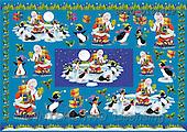 Alfredo, CHRISTMAS SANTA, SNOWMAN, decoupage, paintings(BRTOD1311CP,#X#,#DP#) Weihnachten, Navidad, illustrations, pinturas