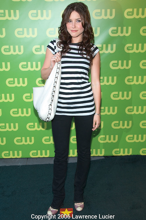 Actress Sophia Bush arrives at the CW Network Upfront May 19, 2007, at Madison Square Garden in New York City.. (Pictured : Sophia Bush).