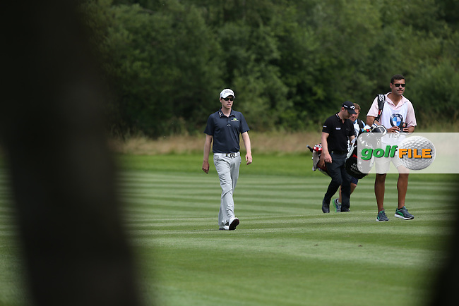 Kevin Phelan (IRL) during Round Two of the 2015 BMW International Open at Golfclub Munchen Eichenried, Eichenried, Munich, Germany. 26/06/2015. Picture David Lloyd | www.golffile.ie