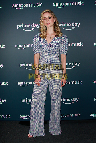 NEW YORK, NY - JULY 10: Erin Moriarty at Amazon's Prime Day Concert at Hammerstein Ballroom  on July 10, 2019 in New York City.<br /> CAP/MPI/DC<br /> ©DC/MPI/Capital Pictures