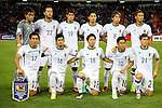 Japan team group line-up (JPN),<br /> SEPTEMBER 6, 2016 - Football / Soccer :<br /> FIFA World Cup Russia 2018 Asian Qualifiers Final Round Group B match between Thailand 0-2 Japan at Rajamangala National Stadium in Bangkok, Japan. (Photo by Kenzaburo Matsuoka/AFLO)