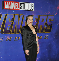 Scarlett Johansson at the &quot;Avengers: Endgame&quot; UK fan event, Picturehouse Central, Corner of Shaftesbury Avenue and Great Windmill Street, London, England, UK, on Wednesday 10th April 2019. <br /> CAP/CAN<br /> &copy;CAN/Capital Pictures