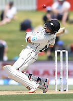 24th November 2019; Mt Maunganui, New Zealand;  BJ Watling batting on day 4 of the 1st international cricket test match, New Zealand versus England at Bay Oval, Mt Maunganui, New Zealand.  - Editorial Use