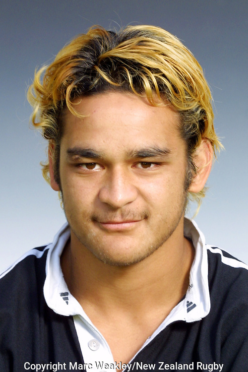 Piri Weepu. Under 19 Portraits 2002. Cereal TV