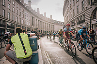 Tony Martin (DEU/Katusha-Alpecin) in Regent Street<br /> <br /> Stage 8: London to London (77km)<br /> 15th Ovo Energy Tour of Britain 2018