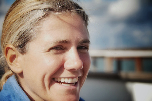Laura Dillon, RORC Rear Commodore, is still the only woman sailor to have won the All-Ireland Helm Championship