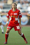 2 August 2003: Melanie Hoffmann. The Philadelphia Charge defeated the Atlanta Beat 3-0 at Villanova Stadium in Villanova, PA in a regular season WUSA game.