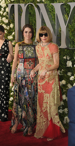 NEW YORK, NY - June 11: Bee Shaffer, Anna Wintour attends the 71st Annual Tony Awards at Radio City Music Hall on June 11, 2017 in New York City.@John Palmer / Media Punch