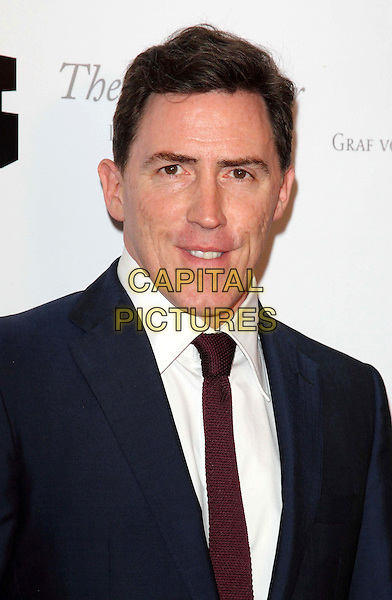 Rob Brydon.South Bank Sky Arts Awards at the Dorchester Hotel, Park Lane, London, England..May 1st 2012.headshot portrait blue suit white shirt red tie.CAP/ROS.©Steve Ross/Capital Pictures