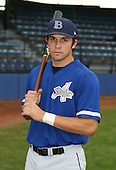 July 14th, 2007:  Jordan Wolf of the Aberdeen Ironbirds, Class-A Short-Season affiliate of the Baltimore Orioles, poses for a photo before a game vs the Jamestown Jammers in New York-Penn League action.  Photo Copyright Mike Janes Photography 2007.
