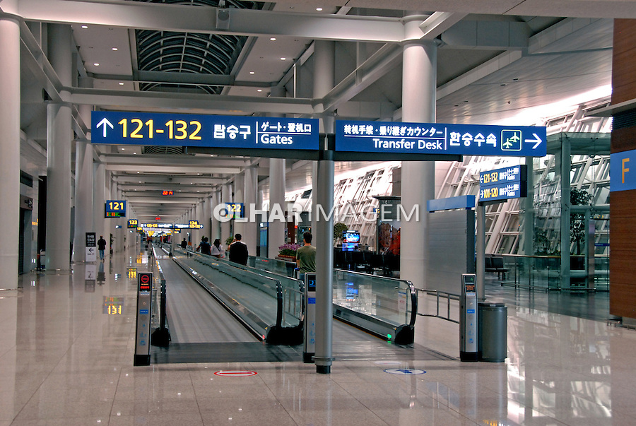 Aeroporto de Seul. Coreia. 2009. Foto de Thaïs Falcão.
