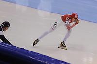 SCHAATSEN: HEERENVEEN: IJsstadion Thialf, 17-11-2012, Essent ISU World Cup, Season 2012-2013, Ladies 1500 meter Division B, Anna Chernova (RUS), ©foto Martin de Jong