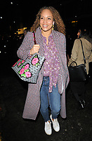 "Angela Griffin at the ""Home, I'm Darling"" press night, Duke of York's Theatre, St Martin's Lane, London, England, UK, on Tuesday 05th February 2019.<br /> CAP/CAN<br /> ©CAN/Capital Pictures"