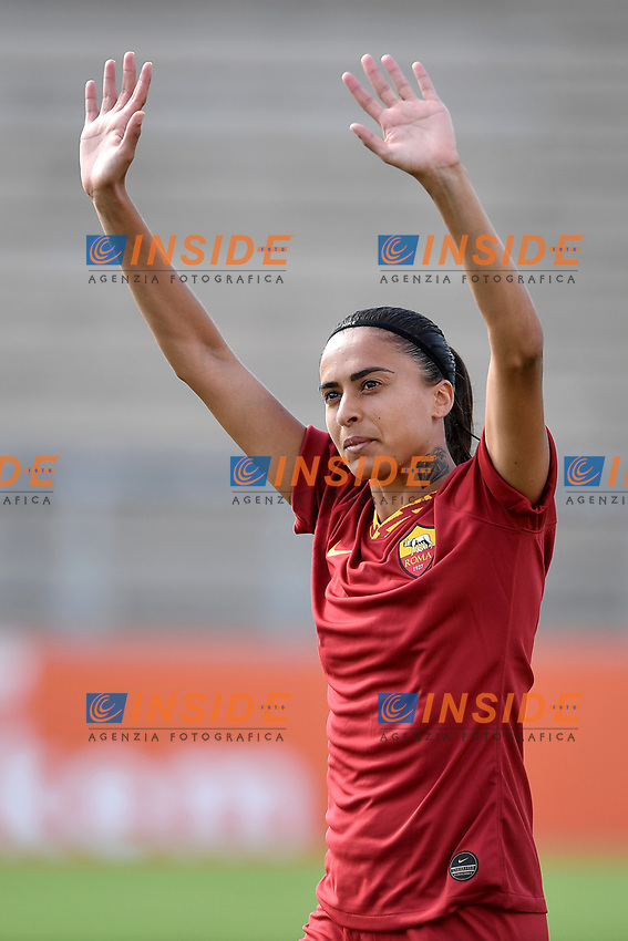Andressa Alves Da Silve of AS Roma <br /> Roma 8/9/2019 Stadio Tre Fontane <br /> Luisa Petrucci Trophy 2019<br /> AS Roma - Paris Saint Germain<br /> Photo Andrea Staccioli / Insidefoto