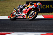 June 10th 2017,  Barcelona Circuit, Montmelo, Catalunya, Spain; MotoGP Grand Prix of Catalunya, qualifying day; Dani Pedrosa (Repsol Honda) on his way to winning pole
