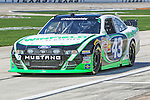 Nationwide Series driver Reed Sorenson (43) in action during the NASCAR Nationwide Series qualifying at Texas Motor Speedway in Fort Worth,Texas.