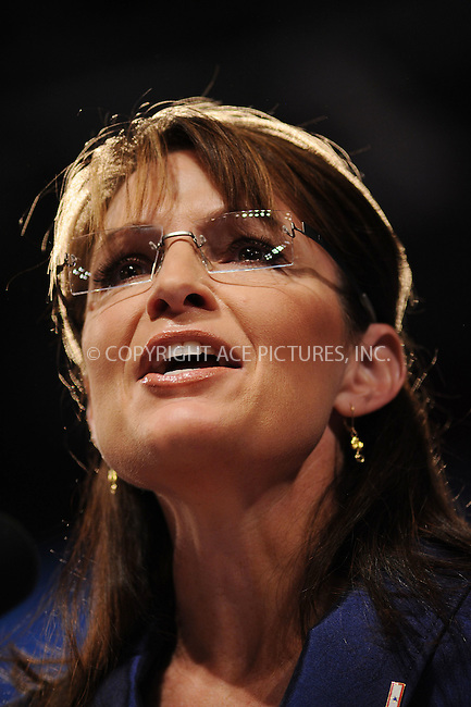 WWW.ACEPIXS.COM . . . . . ....October 14 2008, New York City....Republican vice-presidential canidate Sarah Palin attended a rally with her husband Todd Palin on October 14 2008 in Scranton, PA.......Please byline: KRISTIN CALLAHAN - ACEPIXS.COM.. . . . . . ..Ace Pictures, Inc:  ..(646) 769 0430..e-mail: info@acepixs.com..web: http://www.acepixs.com