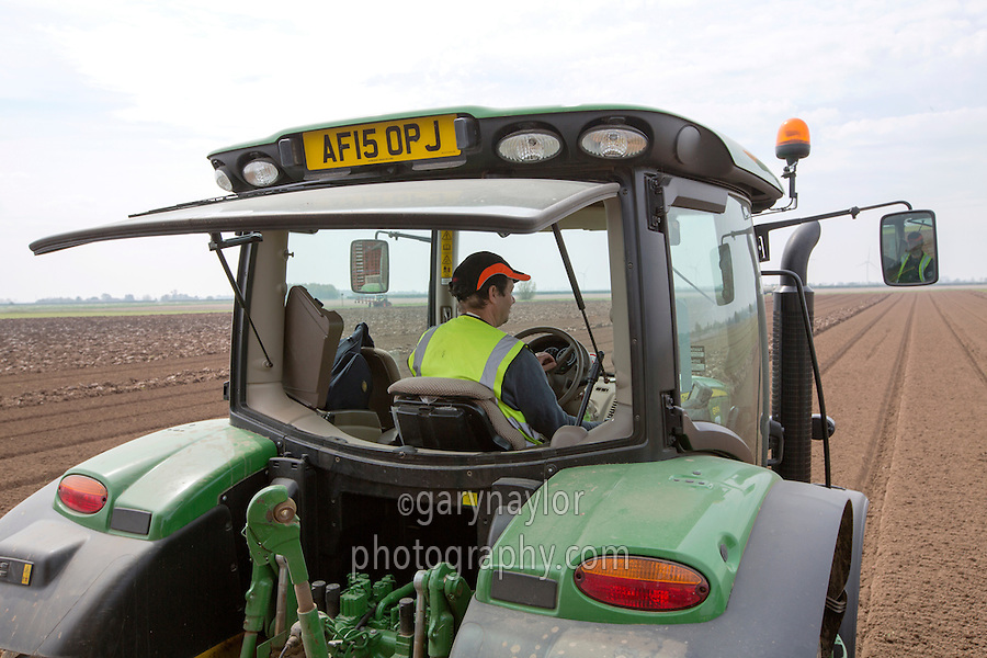 Tractor driver - Lincolnshire, May