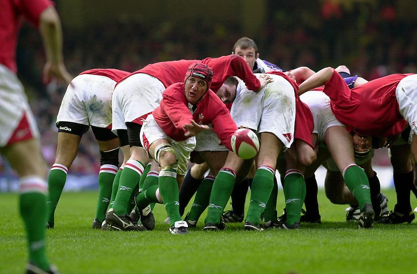 Photo:Ken Brown.18.3.2000  Wales v Scotland.Rupert Moon.