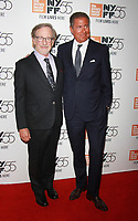 NEW YORK, NY October 05, 2017 Steven Spielberg,  Richard Plepler attend  55th New York Film Festival present World Premiere of HBO's Spielberg at Alice Tully Hall in New York October 05,  2017.<br /> CAP/MPI/RW<br /> &copy;RW/MPI/Capital Pictures