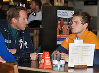 Rotterdam, The Netherlands, March 20, 2016,  TV Victoria, NOJK 14/18 years, coach pupil conversation<br /> Photo: Tennisimages/Henk Koster