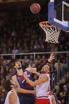 League ACB-ENDESA 2017/2018 - Game: 20.<br /> FC Barcelona Lassa vs Retabet Bilbao Basket: 90-58.<br /> Alex Mumbru, Ante Tomic &amp; Axel Hervelle.