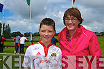 Daire and Veronica Kennelly at the Munster Rugby Camp