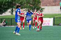 Boston, MA - Saturday July 01, 2017: Meggie Dougherty Howard during a regular season National Women's Soccer League (NWSL) match between the Boston Breakers and the Washington Spirit at Jordan Field.